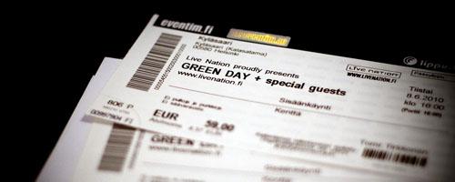 Green Day -liput