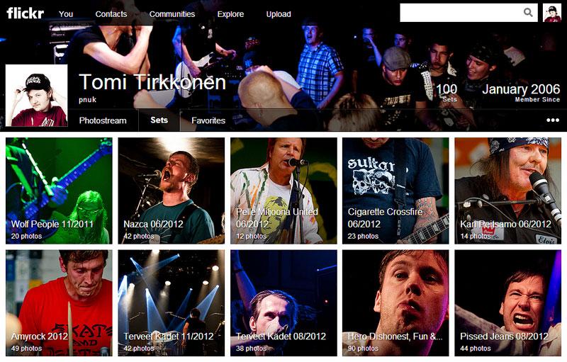 Flickr uudistui
