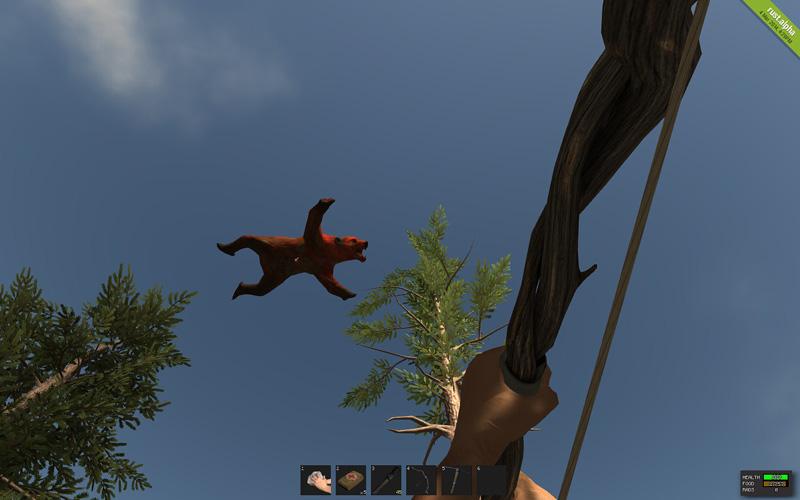 Lentävä punainen karhu